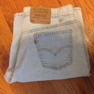 👖Levi's 550 relaxed fit shorts, 34 inch waist